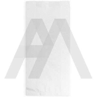 Пакет бумажный   ДхШхВ 90х40х205 мм с плоским дном БЕЛЫЙ   1/1600