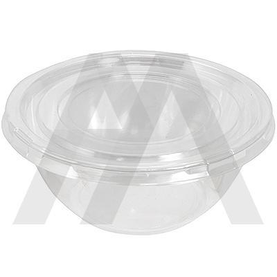 Контейнер   1000мл Н75хD180 мм круглый без крышки PS ПРОЗРАЧНЫЙ   ''DUNI''   1/50/300