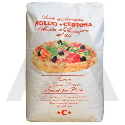 Мука для пиццы   25кг MOLINI CERTOSA   1/1