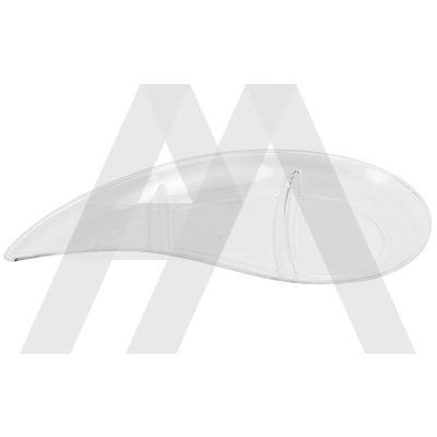 Форма фуршетная ЗАПЯТАЯ   30мл Д 120 мм PS ПРОЗРАЧНАЯ   1/3000